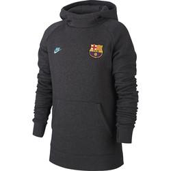 Sweat junior FC Barcelone GFA Fleece gris 2019/20