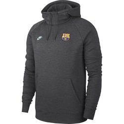 Sweat à capuche FC Barcelone GFA Fleece gris 2019/20