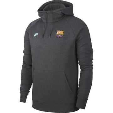 Sweat à capuche FC Barcelone GFA Fleece gris 2019/20
