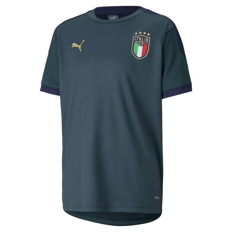 Maillot entraînement junior Italie vert 2020