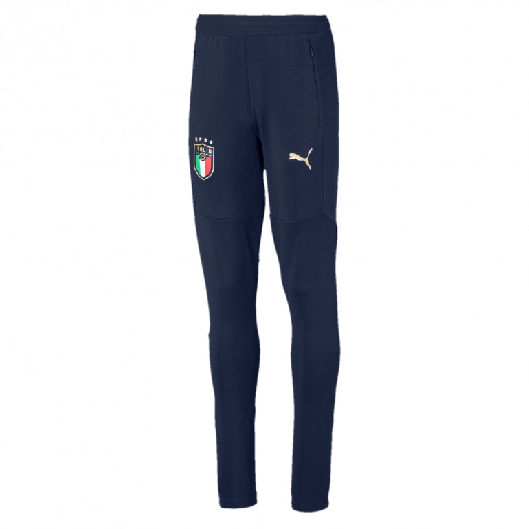 Pantalon survêtement junior Italie bleu 2020