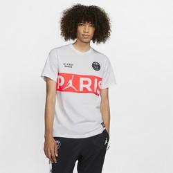 T-shirt PSG Jordan blanc rouge 2019/20