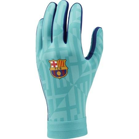 Gants joueurs FC Barcelone Hyperwarm bleu vert 2019/20