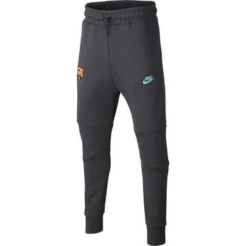 Pantalon survêtement junior FC Barcelone Tech Fleece gris 2019/20