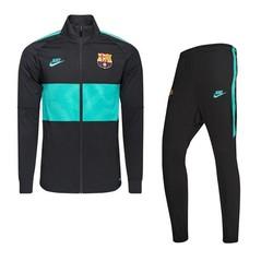 Ensemble survêtement FC Barcelone noir vert 2019/20