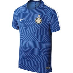 Maillot Avant Match Junior Inter Milan bleu 2016 - 2017