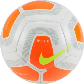 Ballon Premier League orange blanc 2019/20