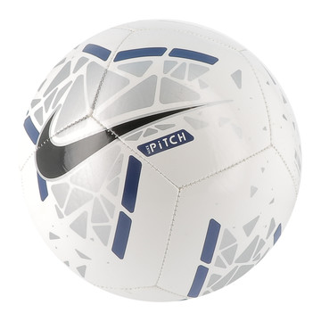 Ballon Nike Pitch blanc bleu 2019/20