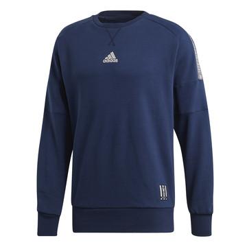 Sweat Real Madrid bleu foncé 2019/20