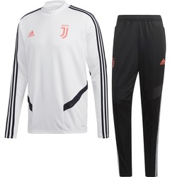 Ensemble entraînement Juventus blanc rose 2019/20
