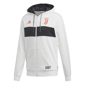 Veste survêtement Juventus FZ blanc noir 2019/20