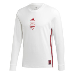 T-shirt manches longues Arsenal blanc 2019/20