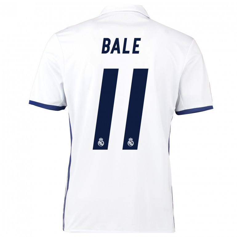 Maillot Gareth Bale Real Madrid domicile 2016 - 2017
