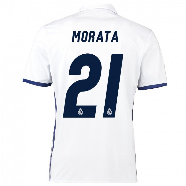 Maillot Morata Real Madrid domicile 2016 - 2017