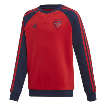 Sweat junior Arsenal rouge bleu 2019/20