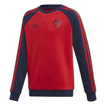 Sweat junior Arsenal rouge bleu 2019/20