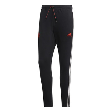 Pantalon survêtement Manchester United molleton noir rouge 2019/20