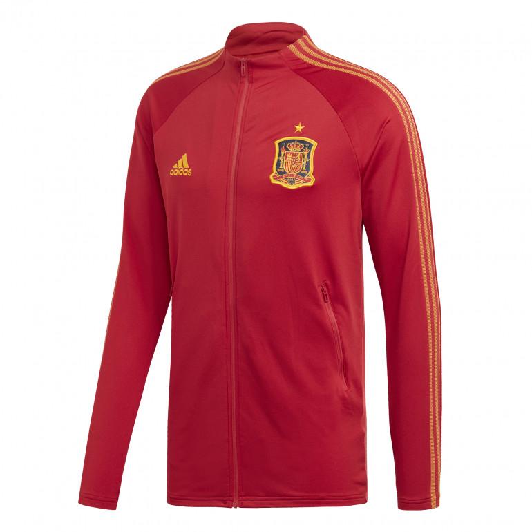 Veste survêtement Espagne Anthem rouge 2020
