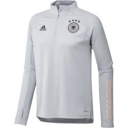 Sweat zippé Allemagne gris 2020