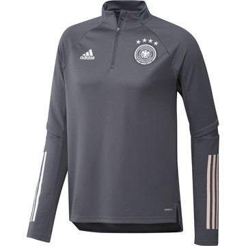 Sweat zippé Allemagne gris foncé 2020