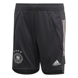 Short entraînement junior Allemagne noir 2020