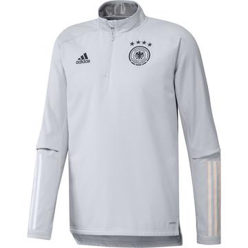 Sweat zippé Allemagne warm gris 2020