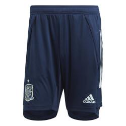 Short entraînement Espagne bleu 2020