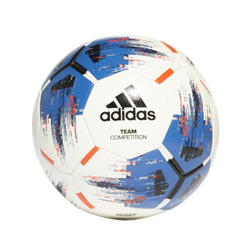 Ballon adidas Team Competition bleu blanc 2019/20
