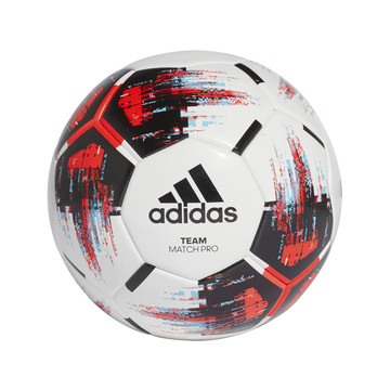Ballon adidas Team Match blanc rouge 2019/20