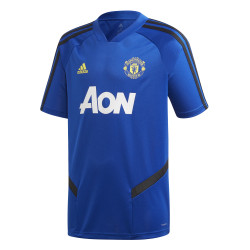 Maillot entraînement junior Manchester United bleu noir 2019/20
