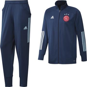 Ensemble survêtement Ajax Amsterdam bleu 2020/21