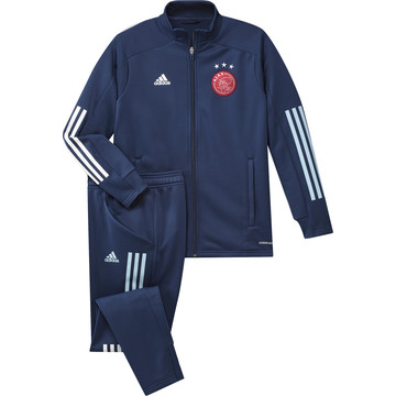 Ensemble survêtement junior Ajax Amsterdam bleu 2020/21