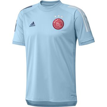 Maillot entraînement Ajax Amsterdam bleu ciel 2020/21