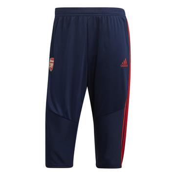 Pantalon survêtement 3/4 Arsenal bleu rouge 2019/20