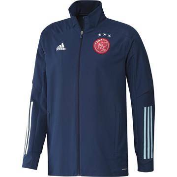Veste entraînement Ajax Amsterdam bleu 2020/21