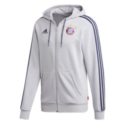 Veste survêtement Bayern Munich FZ gris bleu 2019/20