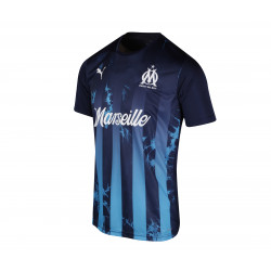 Maillot OM Acide Influence bleu 2019/20