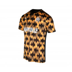 Maillot OM Acide Influence orange noir 2019/20