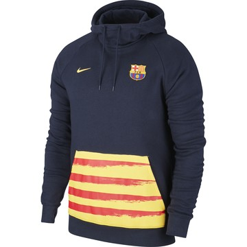 Sweat FC Barcelone GFA Fleece bleu jaune 2019/20