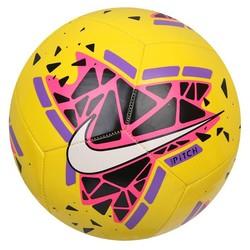 Ballon Nike Pitch jaune rouge 2019/20