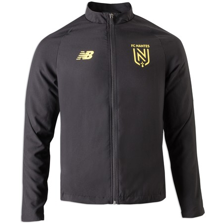 Veste survêtement FC Nantes microfibre noir 2019/20