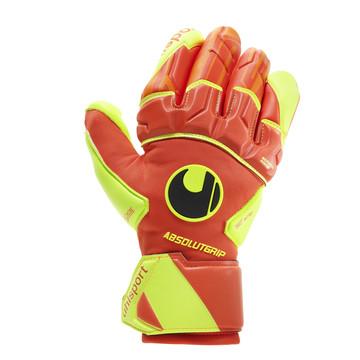 Gants Uhlsport Dynamic Impulse Absolute Reflex jaune orange