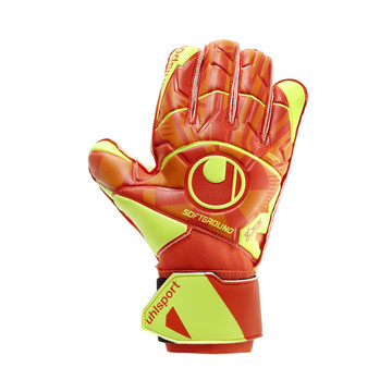 Gants gardien Uhlsport Dynamic Impulse Soft Pro jaune orange