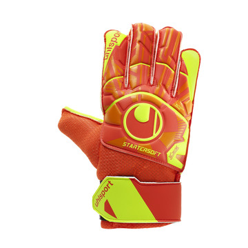 Gants Gardien junior Uhlsport Dynamic Starter Soft rouge 2019/20
