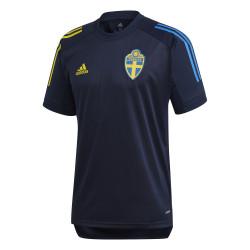 Maillot entraînement Suède bleu 2020