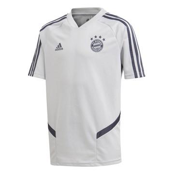Maillot entraînement junior Bayern Munich gris bleu 2019/20