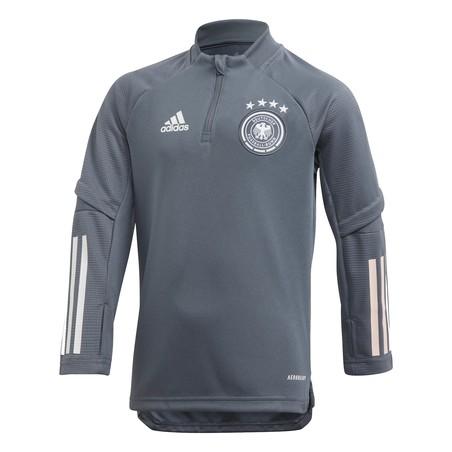 Sweat zippé junior Allemagne gris foncé 2020