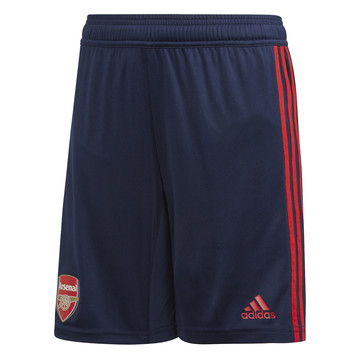 Short entraînement junior microfibre Arsenal bleu rouge 2019/20