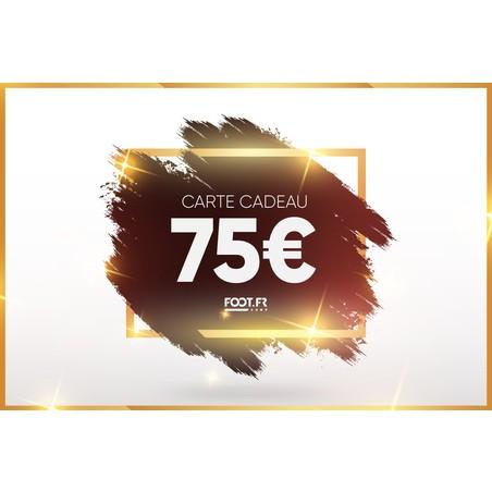 Carte cadeau digitale foot.fr 50€