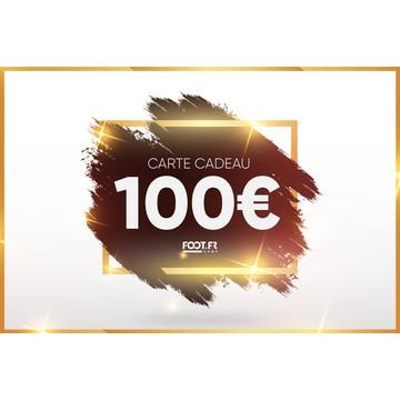 Carte cadeau digitale foot.fr 100€